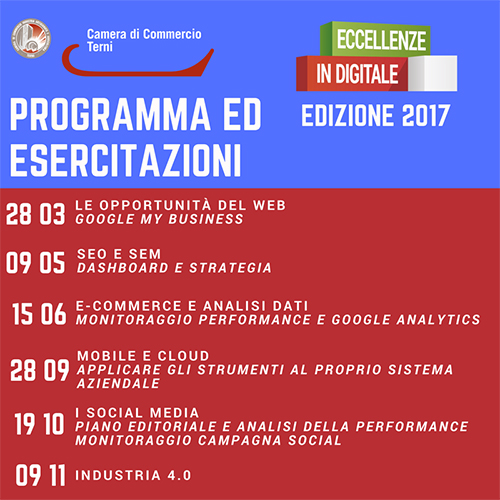 Eccellenze in digitale 2017